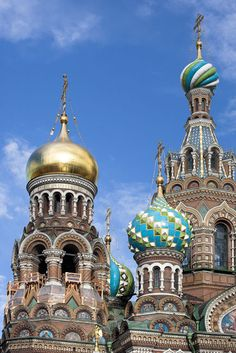 The Church of Christ the Saviour, St Petersburg, Russia