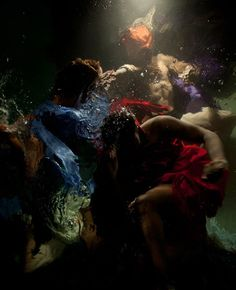 Hawaii-based photographer Christy Lee Rogers specializes in creating dreamlike photos of people underwater.