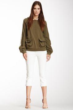 FENDI Distressed Cropped Jean JeanWomen #Pants