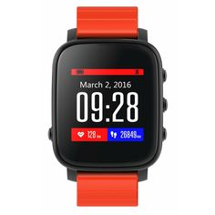 Sale 16% (56.99$) - SMA-TIME Wristband 1.28 Inch LCD Screen 40 Days Long Standby Time Sport Smart Watch For Android IOS