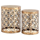Found it at Wayfair - 2-Piece Winnie End Table Set
