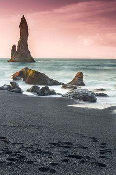 Reynisdrangur Sea Stacks, Iceland