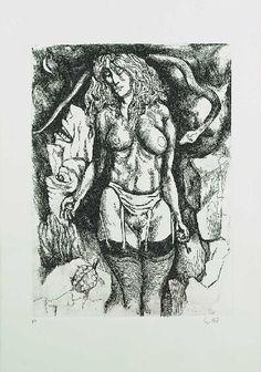 Catherine La Rose: ✿ Renato GUTTUSO (1911- 1987) ~ nudi ✿