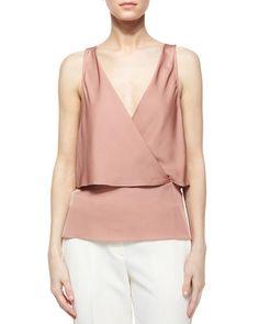 Theory  Alizay Modern Silk Top