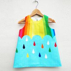 Wild Things rainbow dress