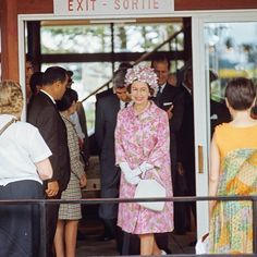 Queen Elizabeth II - Queen of England at Expo '67 - Montreal Canada :)