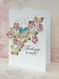 Thank you card by Liz Walker