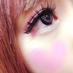 Hearts cheeks and valentine's day nails by 浜崎 せりこ CROOZブログ