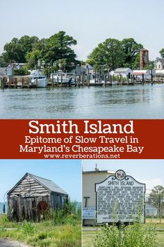 Smith Island is made for slow travel. It's located in the Chesapeake Bay off the coast of Maryland. Unplug, grab a crab cake and a slice of Smith Island Cake. Usa Travel Guide, Travel Guides, Travel Tips, Travel Hacks, Slow Travel, Travel Usa, Canada Travel, Family Travel, Places To Travel