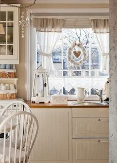 kitchen window in ikea country kitchen