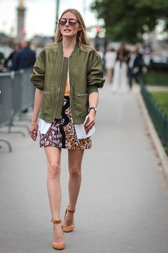 Olivia Palermo is seen after the Giambattista Valli show during Paris Fashion Week Haute Couture Fall 2016 on July 4 2016 in Paris #StreetStyle