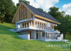 Contemporary Cabin, Big Houses, Home Fashion, Interior Architecture, House Plans, Sweet Home, Villa, Farmhouse, House Design