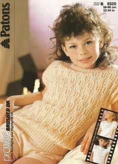 Instant Download  PDF Vintage Patons Pretty by CharliegirlCrafts4U Patons Yarn, Yarn Brands, Vintage Knitting, Vintage Patterns, Frocks, Knitting Patterns, Girl Fashion, Pdf, Fall