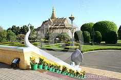 Royal Palace in the capital of Cambodia