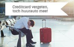 Creditcard vergeten en je wilt je huurauto ophalen? Lees hier de oplossing!
