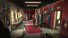 ArtStation - Life is Strange- Before the Storm concept art, Scott Willhite Game Concept Art, Character Concept, Chloe Price, Alice Madness Returns, Life Is Strange, Room Posters, Dressing Room, Home Art, Artwork