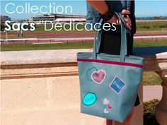 "Collection Sacs ""Dédicaces"". ★ www.LesCabasChics.com"