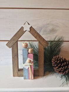 Christmas Wood Crafts, Christmas Nativity, Primitive Christmas, Diy Christmas Ornaments, Rustic Christmas, Christmas Projects, Kids Christmas, Holiday Crafts, Christmas Decorations