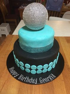 Disco cake for my 7 year old