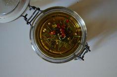 Olio aromatico al rosmarino e peperoncino