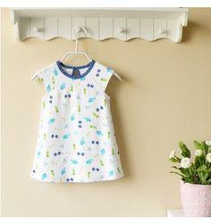 Mom and Bab Cotton Dress - Small Fish - sadinashop.com  Gaun cantik untuk bayi dan anak.
