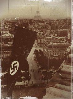 la croix gammée sur paris, pin by Paolo Marzioli