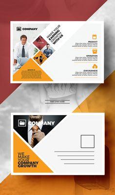 Postcard design inspiration incredible designs to inspire your creativity best . Postcard Layout, Postcard Template, Corporate Invitation, Business Invitation, Invitation Ideas, Flugblatt Design, Flyer Design, Design Cars, House Design