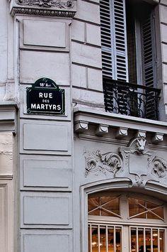 Rue des Martyrs, Paris XVIIIème.