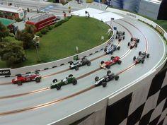 Slot Car Racing, Slot Car Tracks, Carrera Slot Cars, Cbr, Dream Garage, Scale Models, Circuit, Lotus, Hobbies