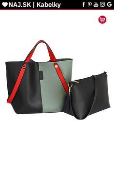 Trendy kabelka Netty čierna / telová AG00198 Shopper Bag, David Jones, Zara, Fashion, Moda, Fashion Styles, Fashion Illustrations