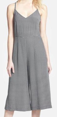 Light grey fashionable jumpsuit