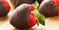 Healthier Ways to Satisfy Your Sweet Tooth: Chocolate Strawberry