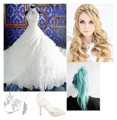 """Her attire // Bride"" by xxrising-artistxx ❤ liked on Polyvore featuring art"