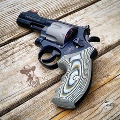 Repost @theyankeemarshal ・・・ Just back from the range with my S&W 329PD. The VZ grips sure make it a lot easier to control. #boom #44mag #329pd #revolver #gunporn #guns #handgun #edc #ccw #vzgrips #pewpew #pew
