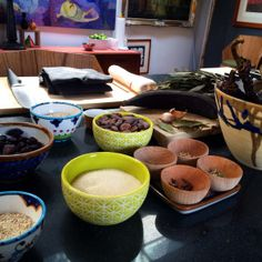 All the ingredients are ready, but are you? Mexican Mole is shrouded in myth, even for Mexicans. Sure, it is very baroque and involves many ingredients, but its quite easy to make! Mole is one of our specialties in our cooking class in Mexico City.