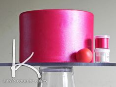 How to Make Your Cake Shimmer