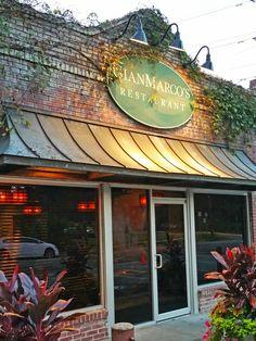 GianMarco's Restaurant is nestled in the quaint Edgewood neighborhood in Homewood, Alabama.