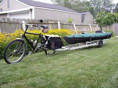 129:  John's Folbot Xtracycle by grrsh, via Flickr