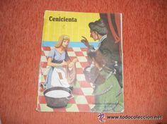CUENTO COLOR SUSAETA LA CENICIENTA AÑOS 60 (Libros de Segunda Mano - Literatura Infantil y Juvenil - Cuentos)