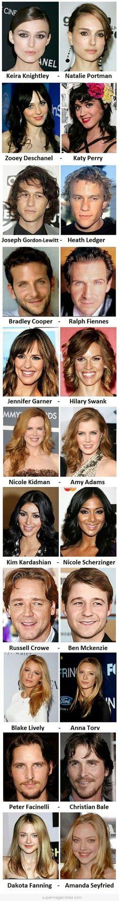 Celebrities That Look Like Celebrities