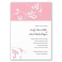 Graceful damask patterns create a colorful, unforgettable wedding invitation - in Pink Blush. #WeddingInvitations #DavidsBridal #PinkWeddings http://www.invitationsbydavidsbridal.com/Wedding-Invitations/Pinks/2947-DB9855D5K-Always--Forever--Pink-Blush-Invitation.pro?&sSource=Pinterest&kw=SoPinkinCute_DB9855D5K