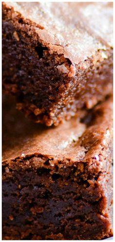 Oprah's Favorite Brownies ~ These rich and fudgy brownies are utter perfection.