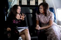 2008 - Michelle Obama had started off the campaign by writing her own remarks — and hit some rocky patches. So before her most high-profile speech, she was assigned a veteran speechwriter: Sarah Hurwitz.