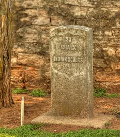 Chalk was an Arapaho Scout attached to the Fourth Cavalry stationed at Fort Reno. He died in the Battle of Turkey Springs in 1878.  This is the last known battle between U.S. Army cavalry and American Indians in Oklahoma.