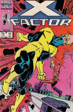 X-FACTOR # 11   MARVEL COMIC  1986  LOUISE SIMONSON / WALT SIMONSON  vf+