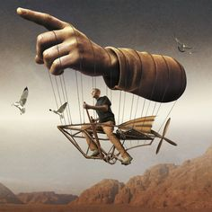 Intriguing inventions always come with strings attached. - Igor Morski artist
