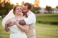 Zooey & Wade's Rustic, DIY, Red White & Blue wedding in Virginia | Images: Amber Kay Photography