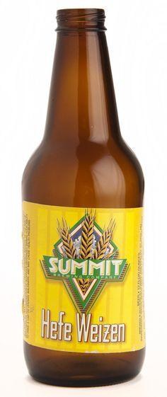 Summit Hefe Weizen beer bottle, circa 1995, MHS