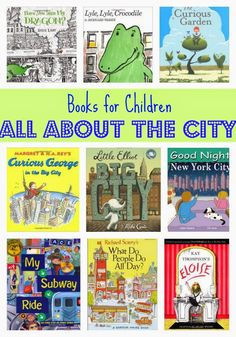 Children's Books: All About City & Farm *** This would be good to go along with a lesson on community. *** Kids' Book Favorites: All About the City*** This would be good to go along with a lesson on community. *** Kids' Book Favorites: All About the City Preschool Books, Book Activities, Sequencing Activities, Great Books, My Books, Social Studies Communities, Library Books, Library Ideas, Free Library