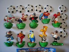 Kinder Surprise Set Magic Sport 2 Soccer Animals 2008 Figures Collectibles | eBay